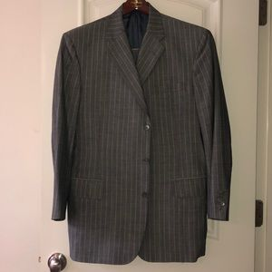 Filo A'Mano Tailored by Tom James Suit Coat &Pants